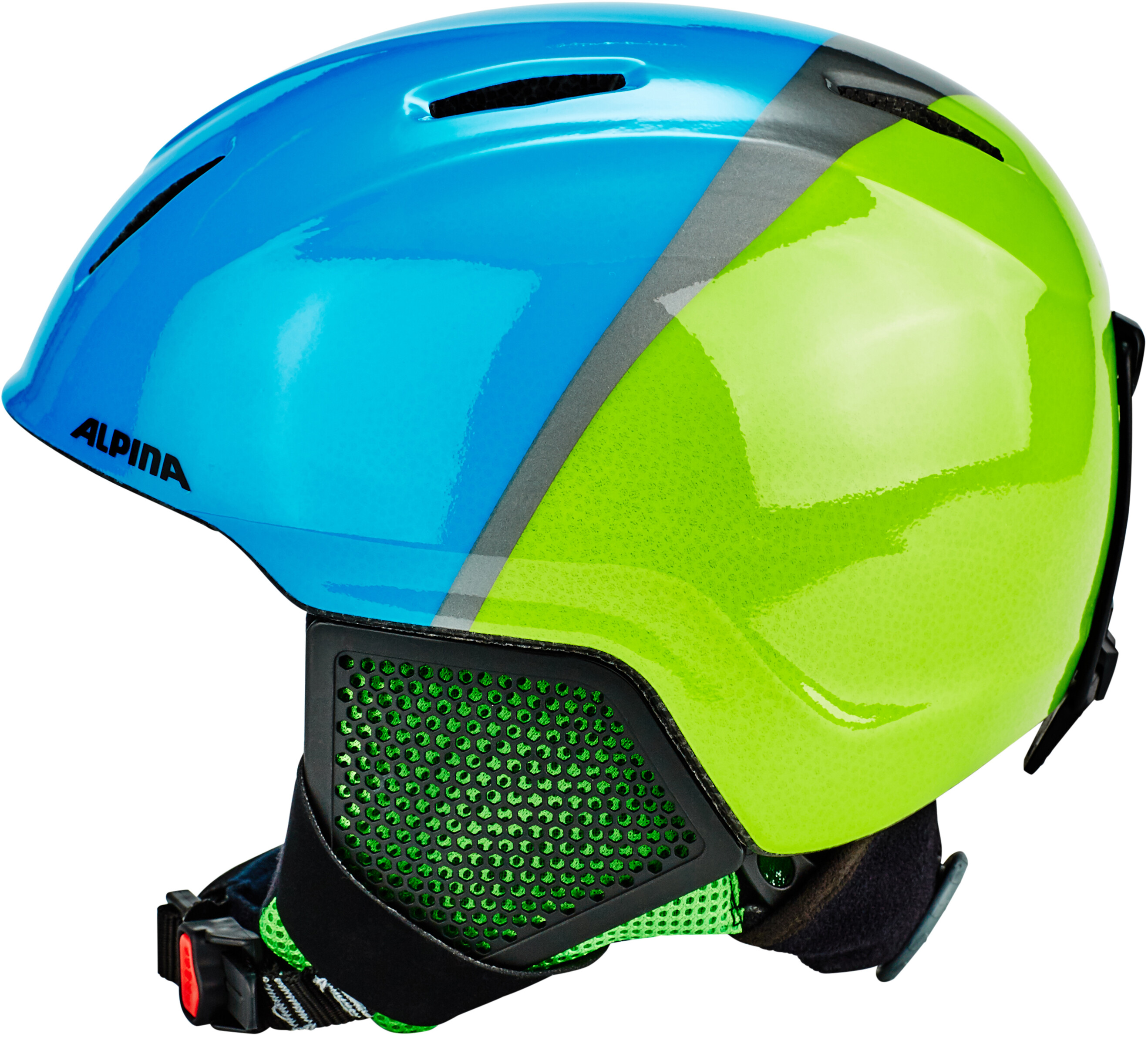 Alpina Carat LX Helmet Children green blue at Addnature.co.uk 8843abe5034